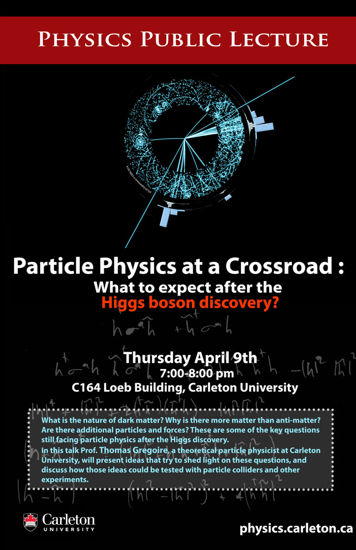 Physics Public Lecture Poster 2015